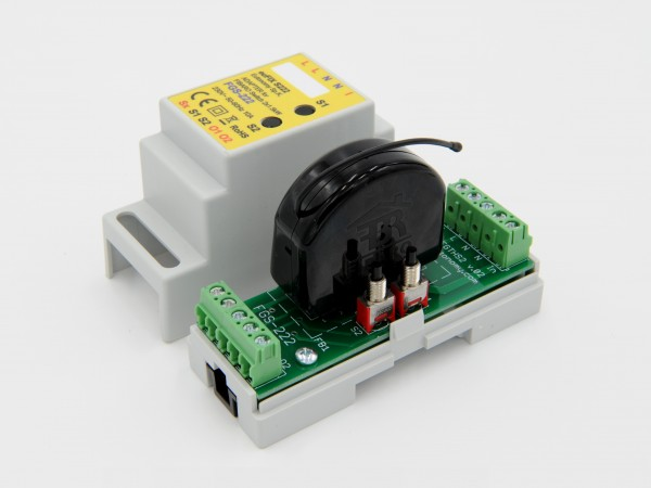 Eutonomy - euFIX S224 DIN adapter (with button)