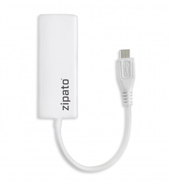Zipato - Micro USB to Ethernet Cable