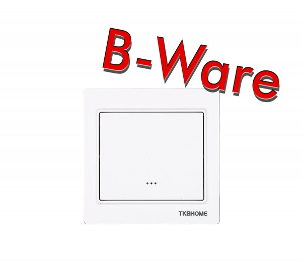 TKB Home Wallswitch with Single Paddle (Cornered Frame)