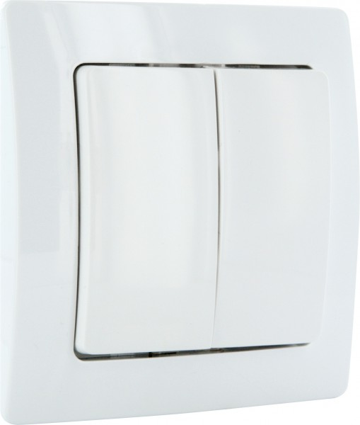 SCHWAIGER - Single / Dual Paddle Wireless Wall Switch