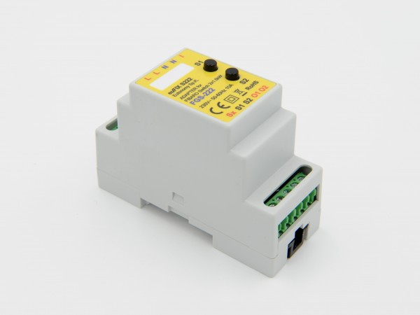 Eutonomy - euFIX S222 DIN adapter (with button)