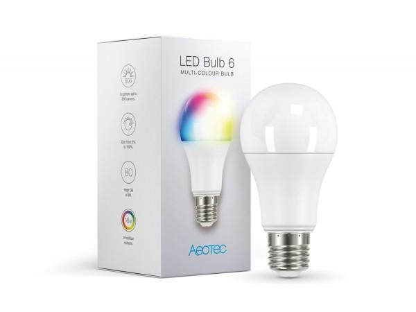Aeotec LED Bulb 6 Multi-Color (E27)