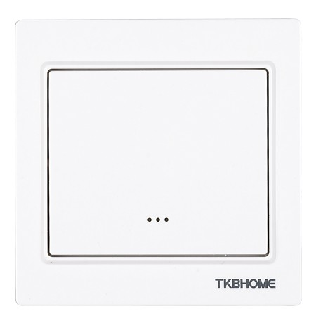 TKB Home Wall Dimmer Switch with Single Paddle (Cornered Frame)