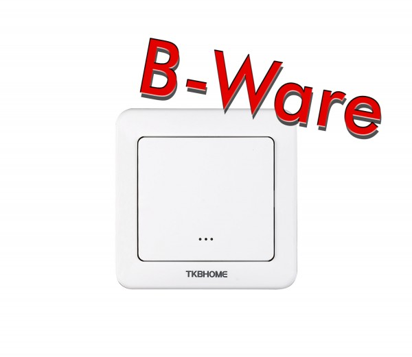 TKB Home Wall Switch with Single Paddle (Rounded Corners)