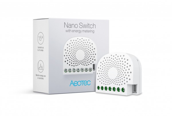 Aeotec Nano Switch mit Energiemessfunktion