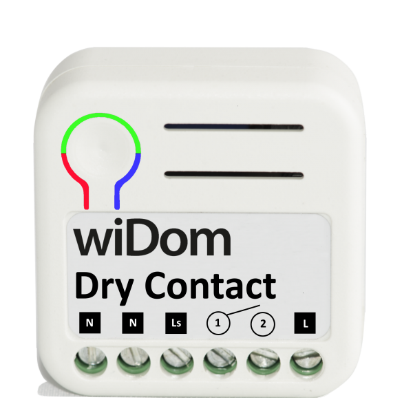 WiDom Relay with Dry Contact