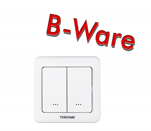 TKB Home Wall Dimmer Switch with Double Paddle (Rounded Corners)