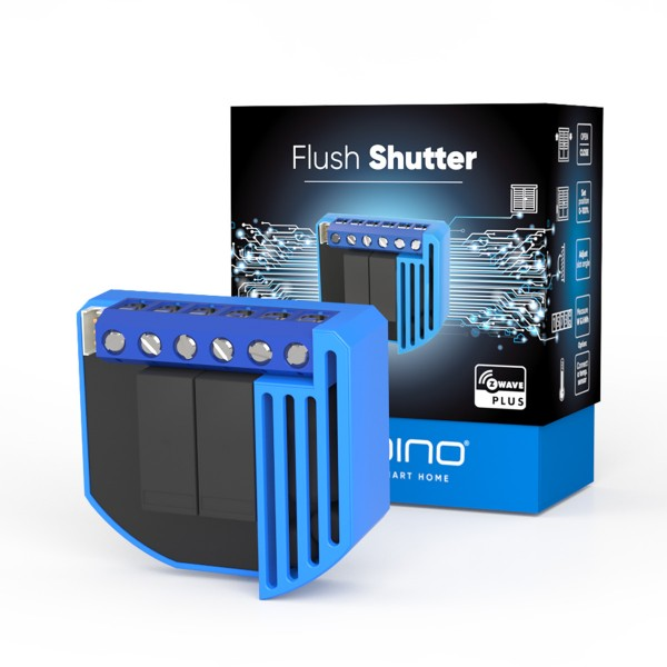 Qubino Flush Shutter with Energy Meter