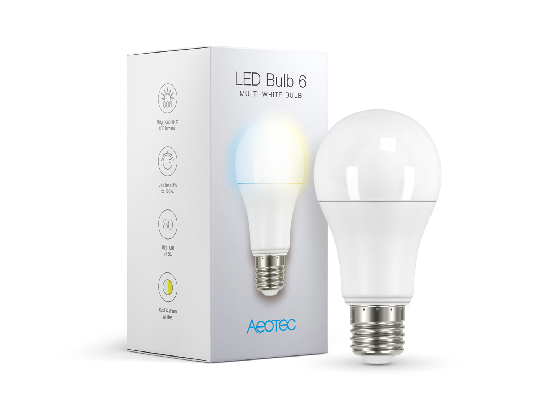 Aeotec Led Bulb 6 Multi White E27 Dimmer Rgbw