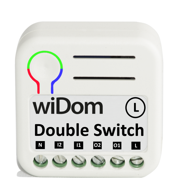 WiDom Double Switch L version