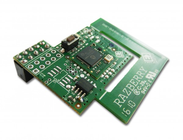Z-Wave.Me RaZberry2 - Z-Wave Plug-On Module for Raspberry Pi (AUS frequency)
