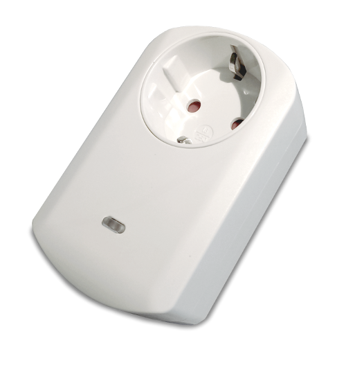 Philio Wall Plug with Power Meter and Overload Protection (Type F)