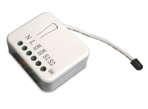 philio doppel relais unterputzeinsatz 2 1 5 kw mit energiemess funktion schalter. Black Bedroom Furniture Sets. Home Design Ideas