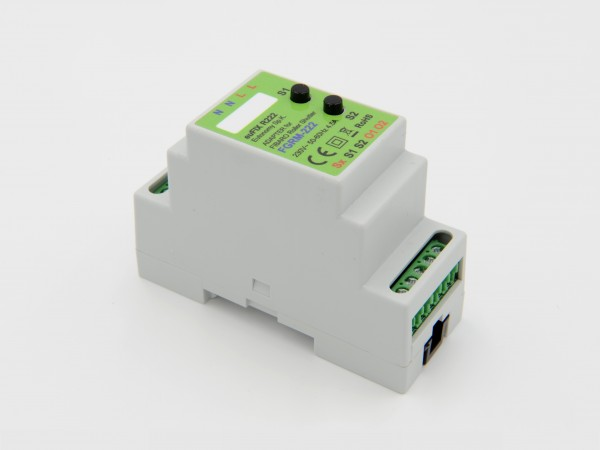 Eutonomy - euFIX R222 DIN adapter (with button)