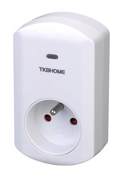 Z-Wave Wall Plug with Dimmer Function (Type E)