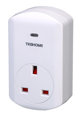 TKB Home Smart Adapter Plug with Power Meter UK Type