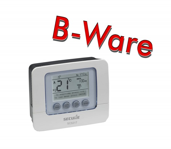 Secure 7 Day Programmable Room Thermostat